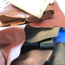 1kg Small to Medium Leather Off-Cuts